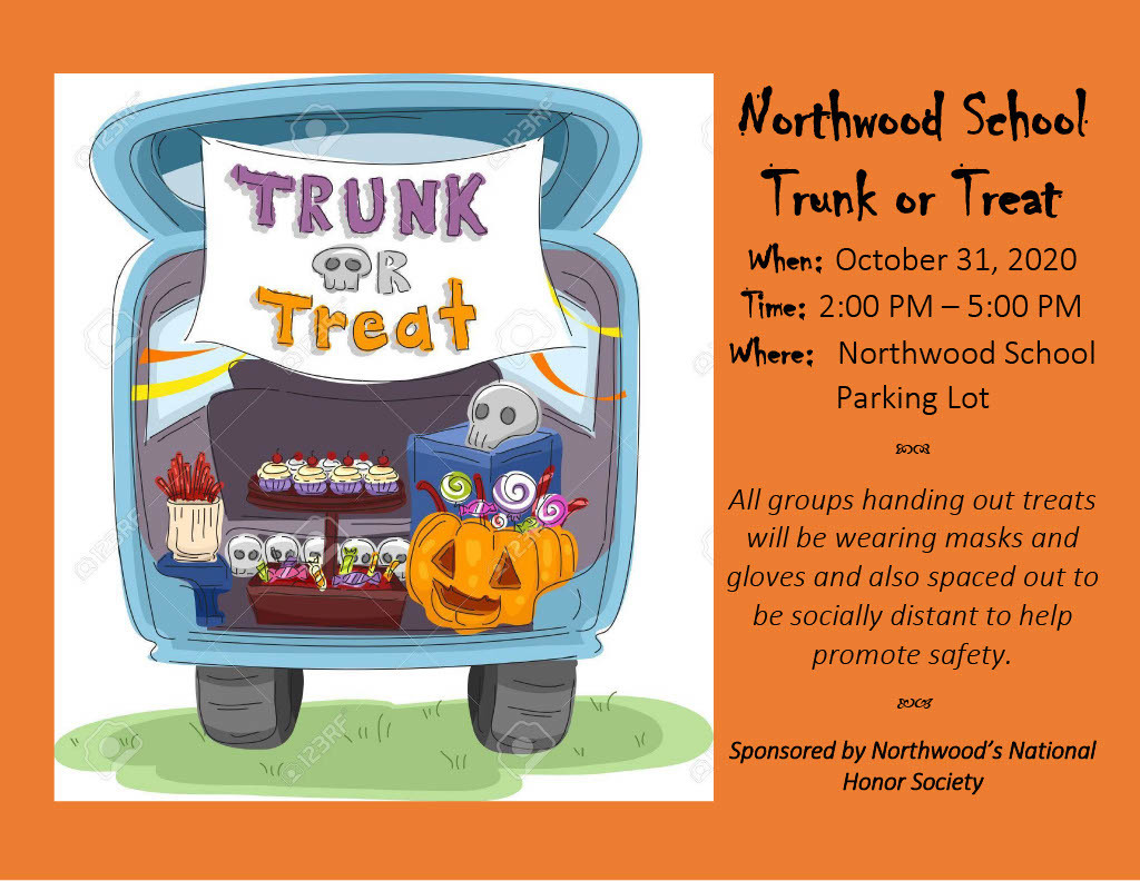 Trunk or Treat at Northwood School