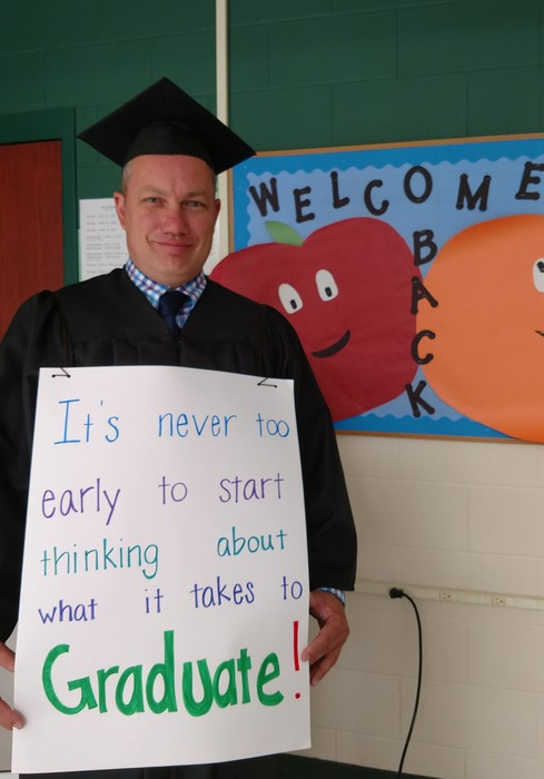 Mr. Kelly's message on the first day of school!