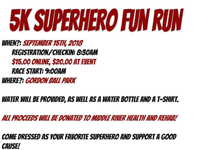 5K Superhero Fun Run