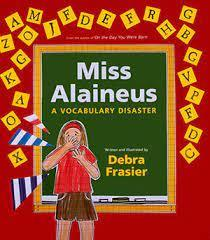 The book that inspired the Vocabulary Parade!