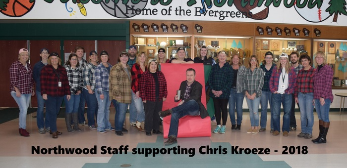 Support for Chris Kroeze!