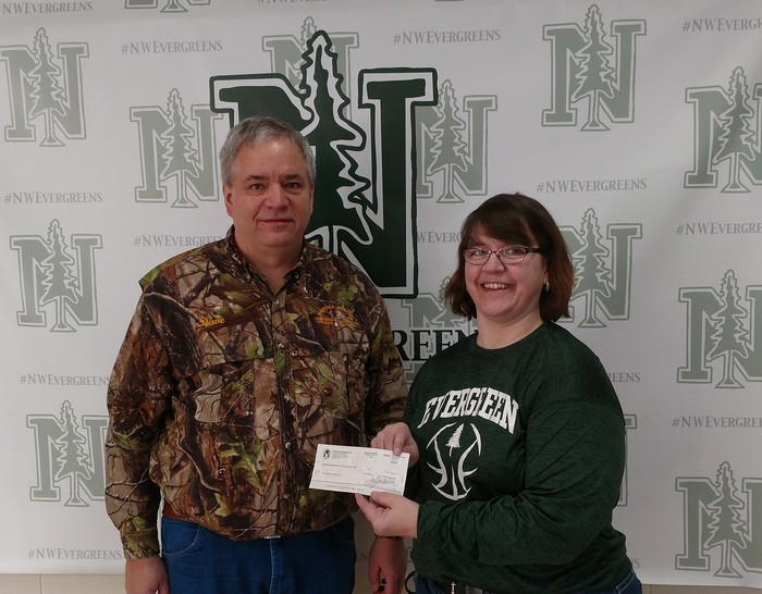 Northwest Wisconsin Chapter of Whitetails Unlimited Library Donation.