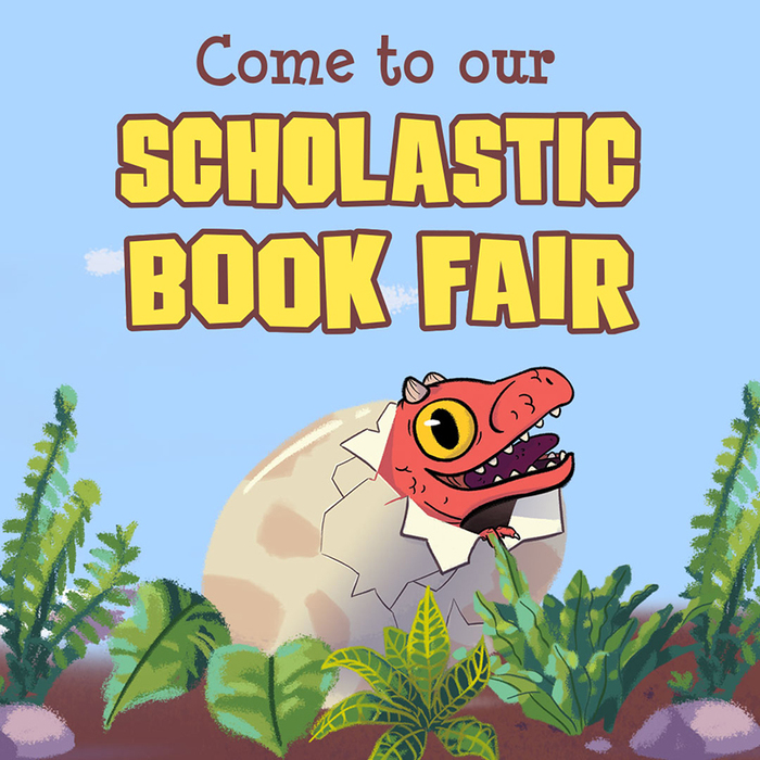 Northwood's Spring Book Fair March 19 - March 22, 2019.