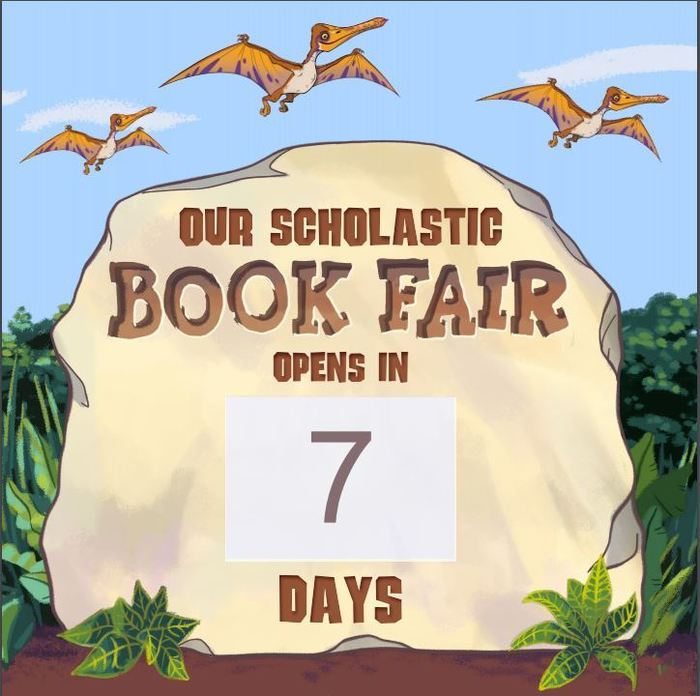 One Week Left....until the next Book Fair!