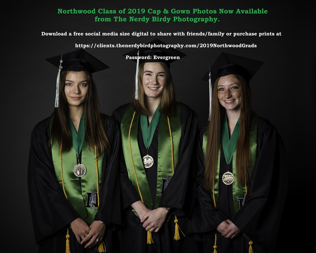 Cap & Gown Photos Available