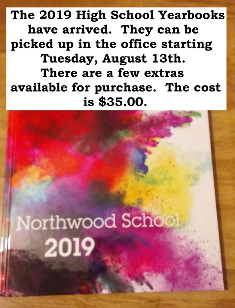 2019 HS Yearbooks have arrived!