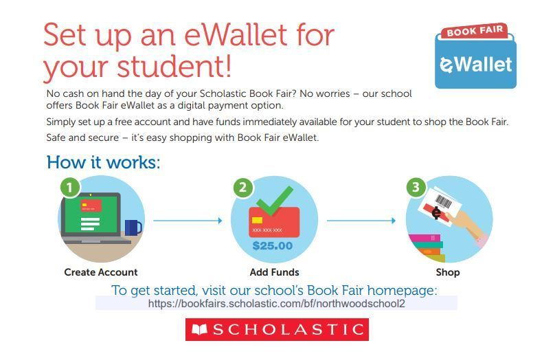 eWallet for the Scholastic Book Fair