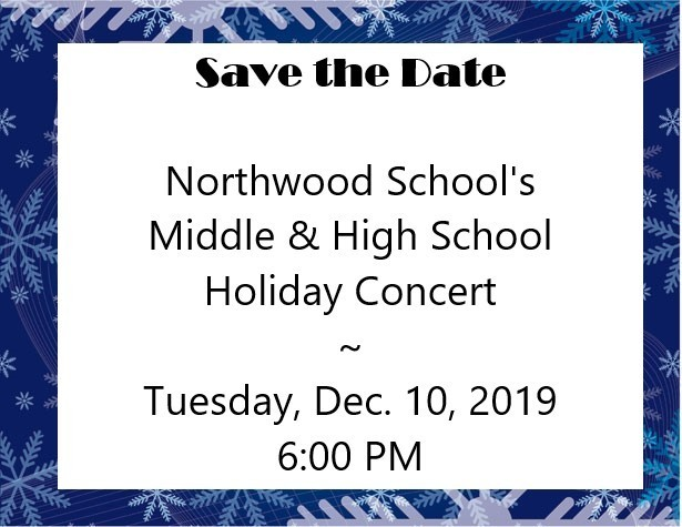 MS & HS Holiday Concert
